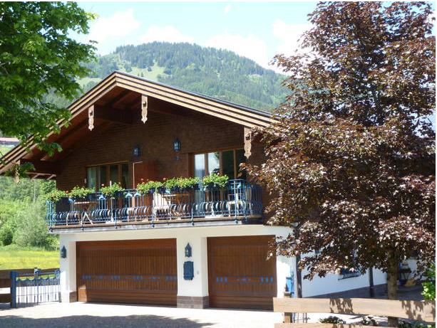 Landhaus Alpenglühen Vorderansicht
